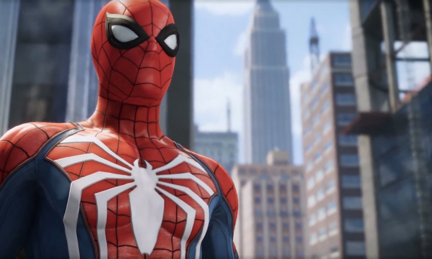 Spider-man looks similar to Arkham Asylum and that's fine screenshot