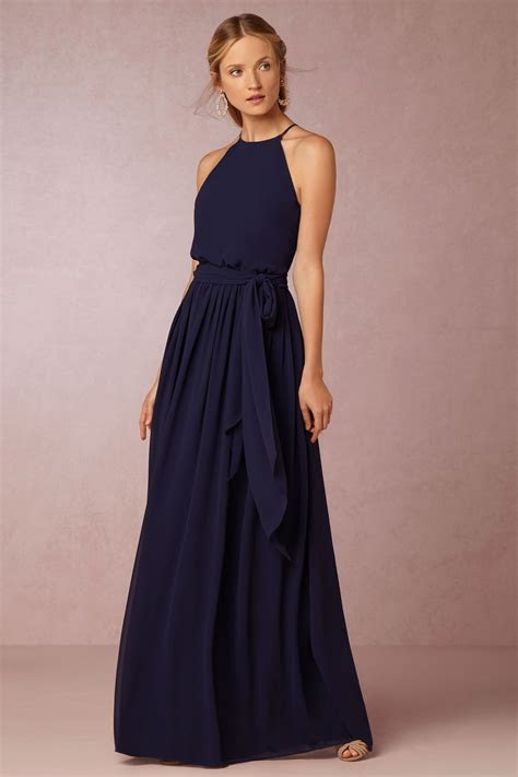 Alana Dress   Bridesmaid Dresses & Bouquets   Navy blue