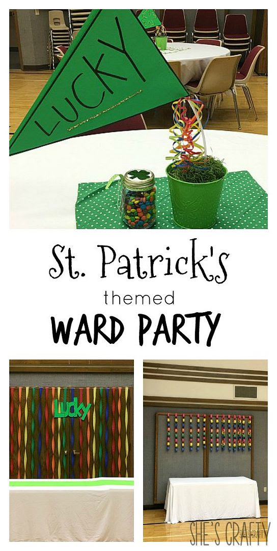 simple party ideas, St Patrick's Day Party, ward party