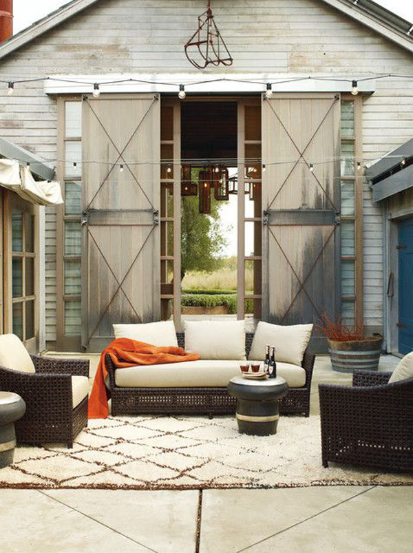 15 Cozy Outdoor Living Space | Home Design And Interior