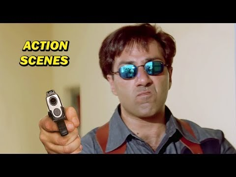 Sunny Deol Full Action & Fight Scenes In Bollywood Movie