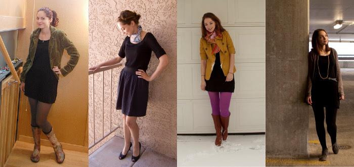 remix black dress dotty outfits