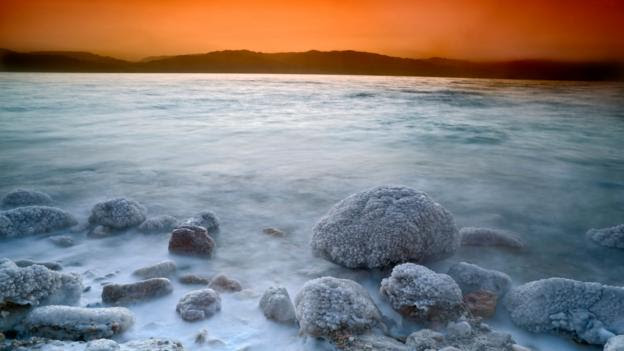 Sunrise over the Dead Sea (Credit: Noam Armonn/Alamy Stock Photo)