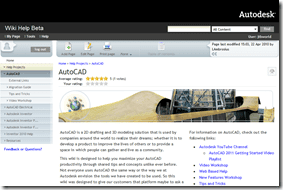 AutoCAD Wiki Help Beta