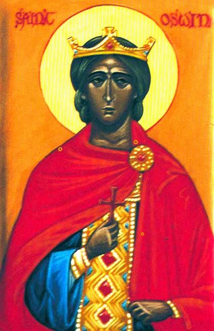 IMG ST. OSWIN, King of Deira