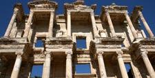 Foto de la Biblioteca de Celso en Éfeso, costa del Egeo (Turquía)