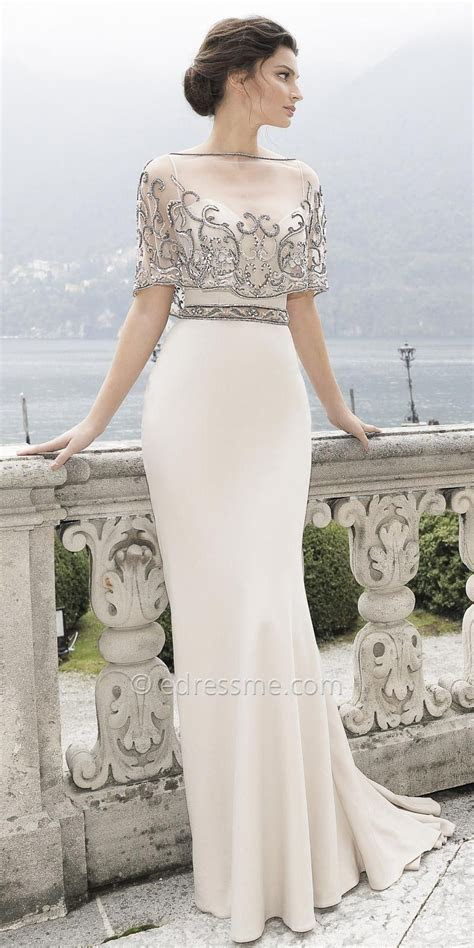 Ica Evening Dress by Tarik Ediz How beautiful is this