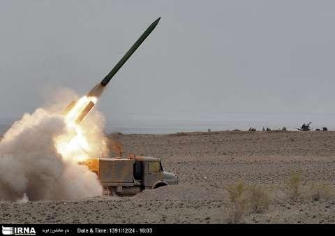 Army Ground Forces successfully test-fired two new rockets dubbed Naze'at-10 and