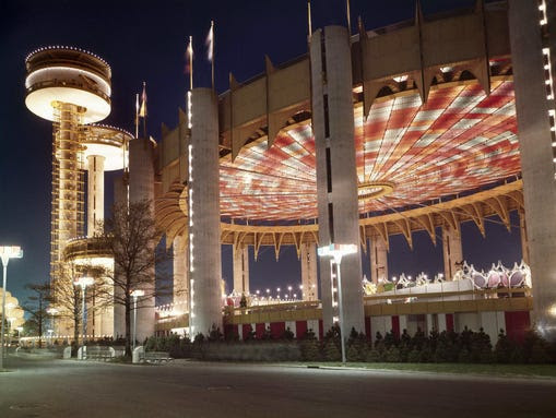 New York State Pavilion in 1965