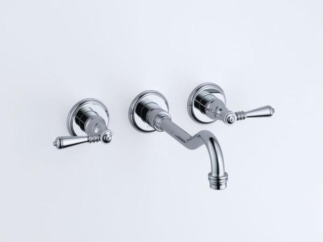 Brizo Tresa Two Handle Wall-mount Faucet - transitional - bathroom