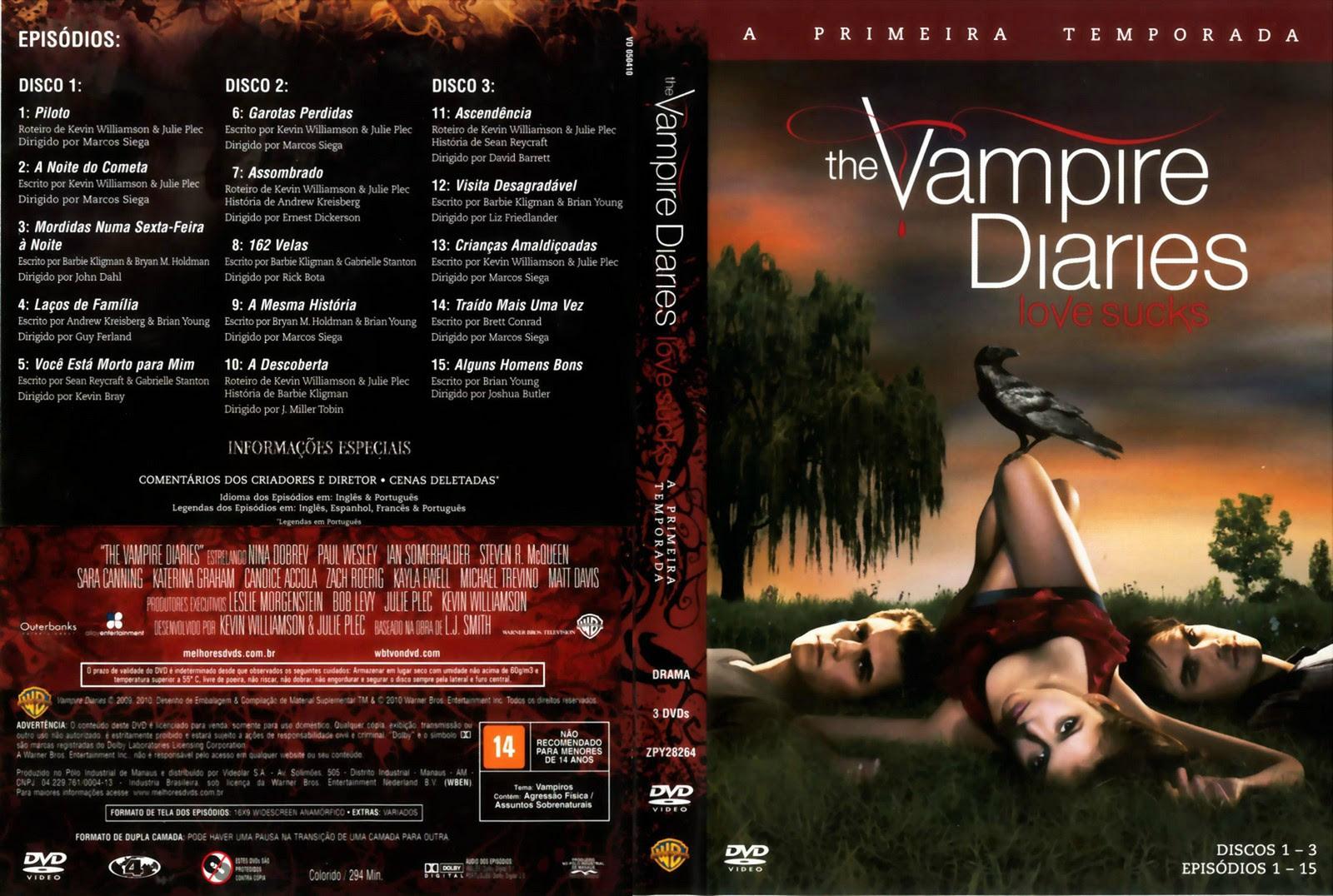 The Vampire Diaries Torrent  - Legendado (2013)e