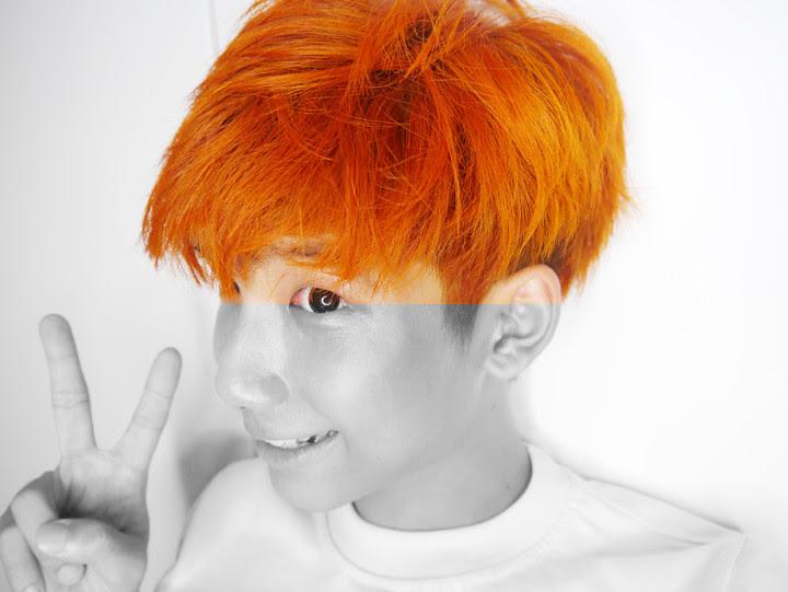typicalben orange hair colour dye`