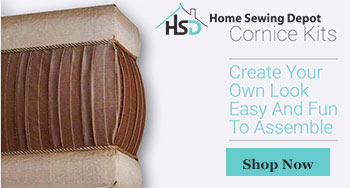 DIY Cornice Kits- Create your own look. Easy and fun to assemble