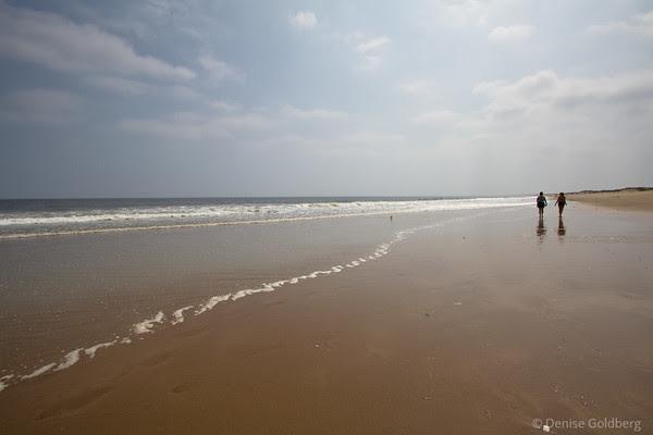 walking on the beach, Parker River National Wildlife Refuge