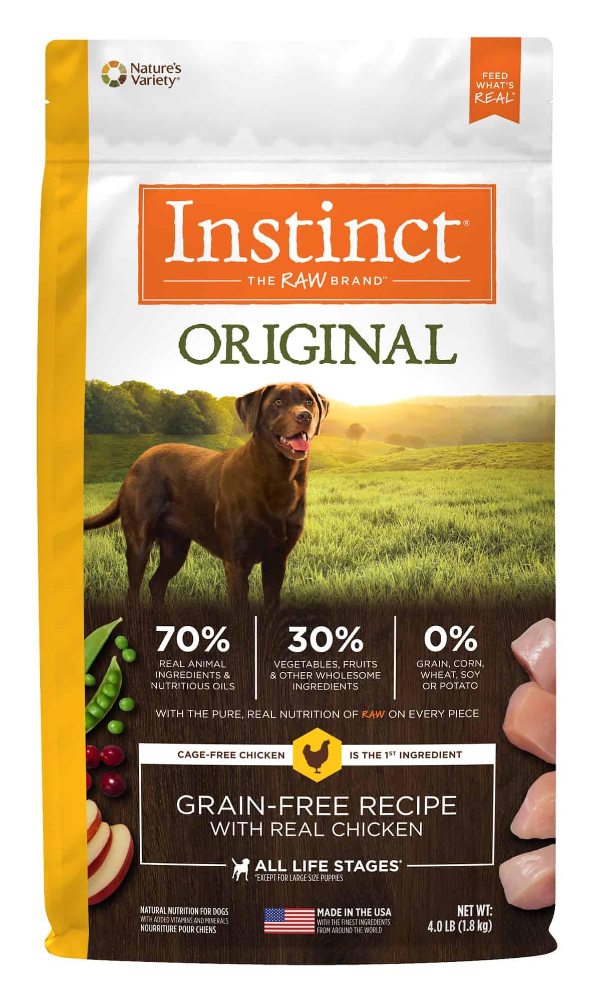 Nature's Variety - Instinct Original - Chicken Review ...
