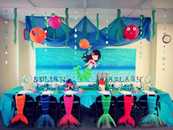 The Little Mermaid Decoration Ideas Elitflat