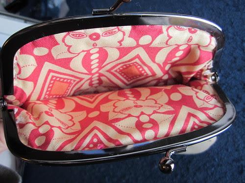 Pretty little pouch swap - inside