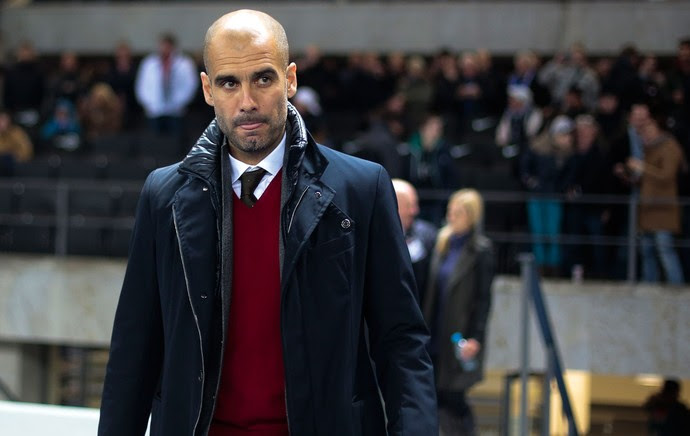 Pep Guardiola Bayern de Munique x Hertha Berlim (Foto: AP)