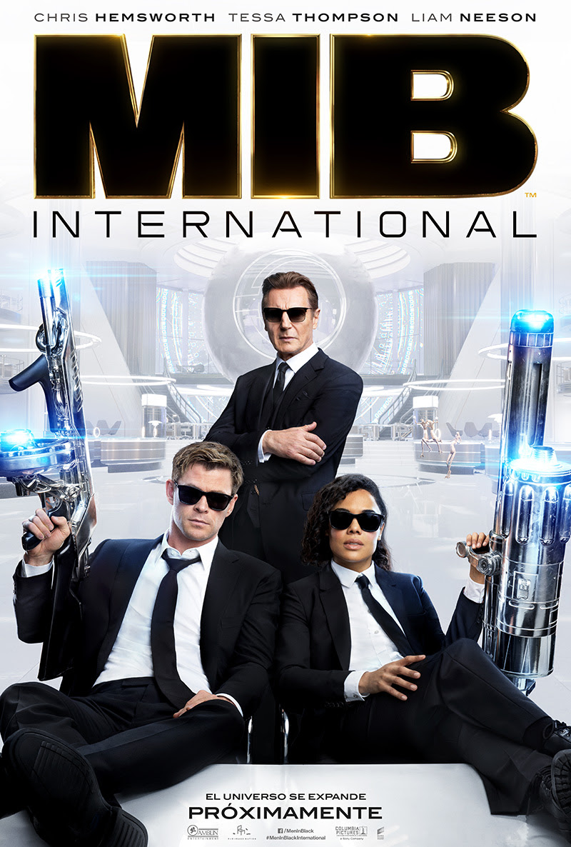 Primer tráiler y póster de Men in Black: International
