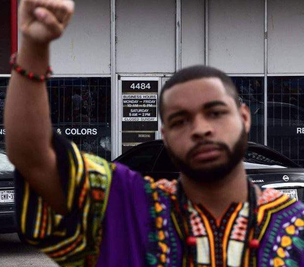 Atirador de Dallas foi identificado como Micah Johnson (Foto: Reprodução)