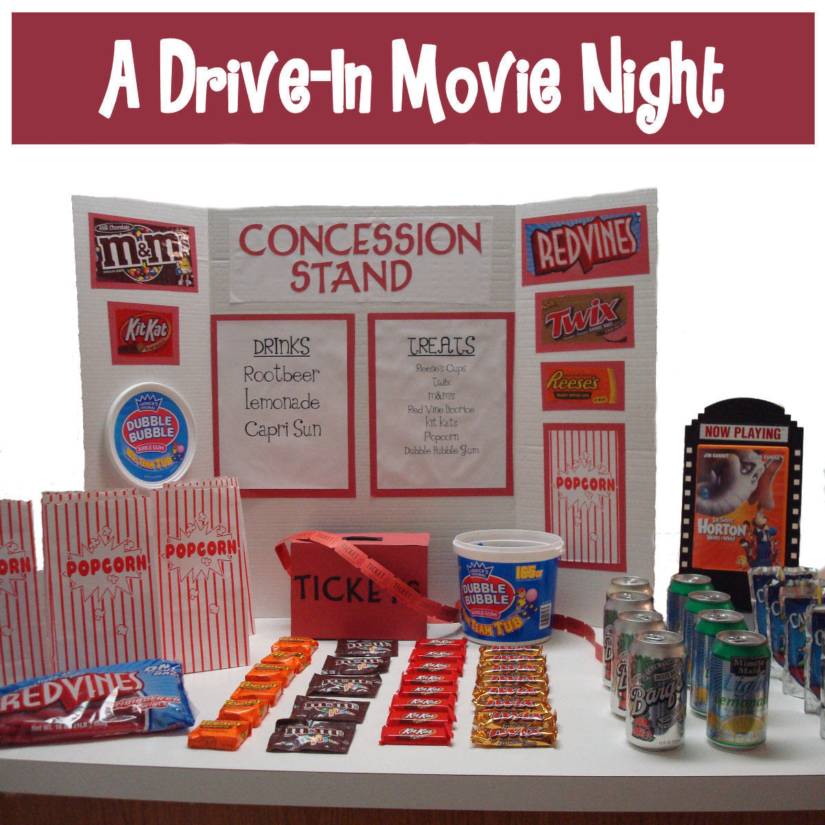 Movie Night Ideas Dollar Store Crafts