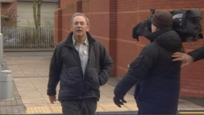The former TV weatherman will be sentenced next month.