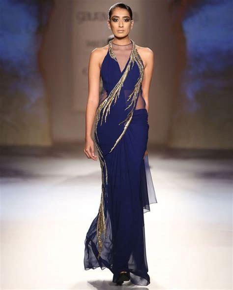 14 best Latest trending sari gowns images on Pinterest