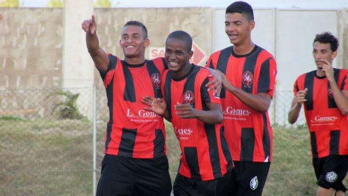 RN - Atlético Potengi x Atlético Potiguar - gol Rivaldo (Foto: Rhuan Carlos/Divulgação)