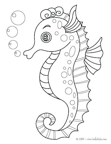 Free Printable Ocean Life Coloring Pages (Fun Under the Sea!) | 470x364