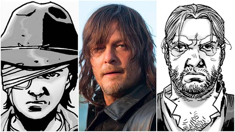 Is There A Daryl In The Walking Dead Comics