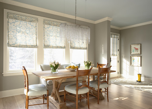 Glitzy-Glam meets Farmhouse-Chic eclectic dining room