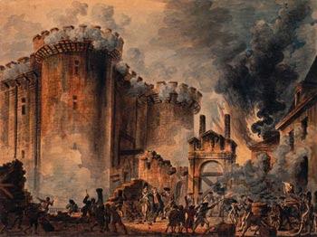 La Revolución francesa- Toma de la Bastilla (Nostradamus)