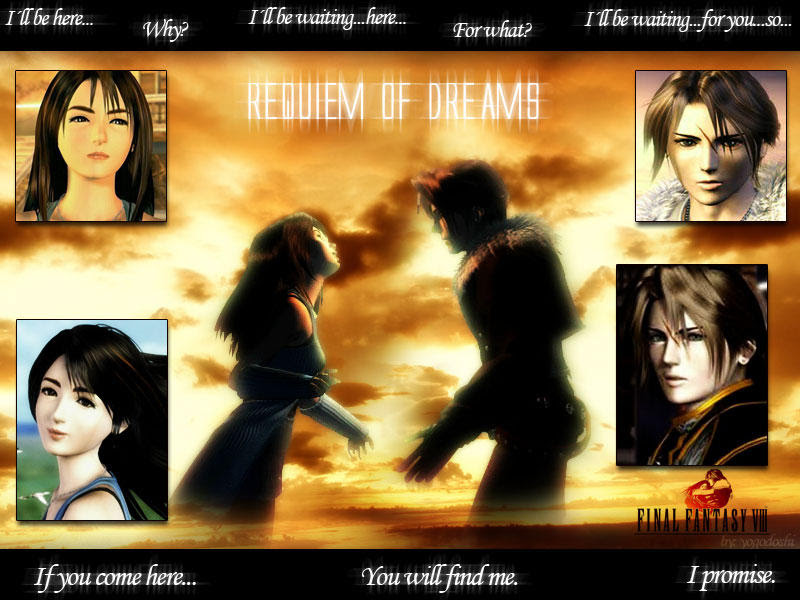 Final Fantasy Rinoa Squall