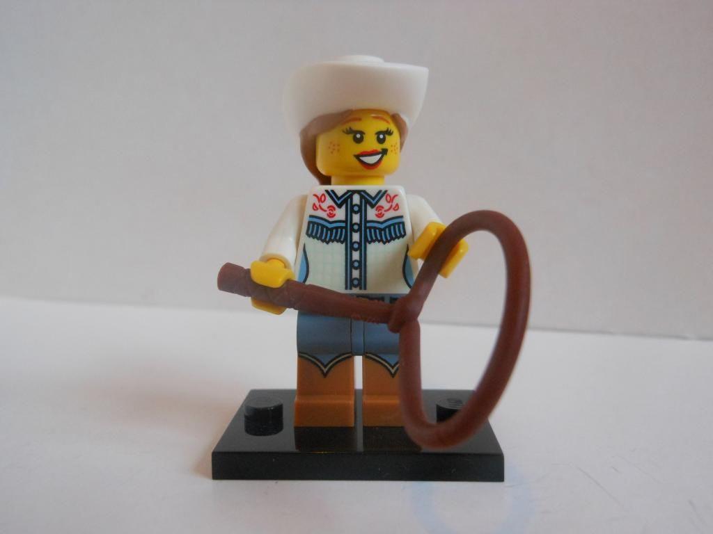 Lego cowgirl
