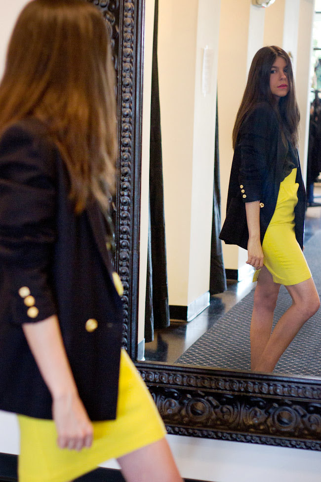 Thierry Mugler Paris, Vintage Eighties Fashion Blazer, Outfit