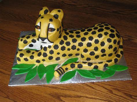 Cheetah Cakes ? Decoration Ideas   Little Birthday Cakes