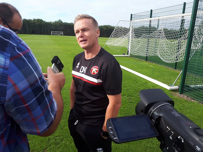 Dean Keates Planning to Add Another Central Defender to His Squad