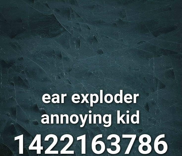 Annoying Kid In Roblox