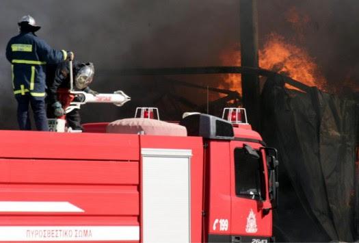 Φωτιά, επεισόδια και τραυματίες πρόσφυγες στη Λέρο - Εμπρησμό `δείχνουν` τα στοιχεία λέει ο Δήμαρχος