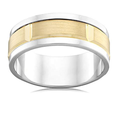 High Quality Men's Wedding Rings Designed For You