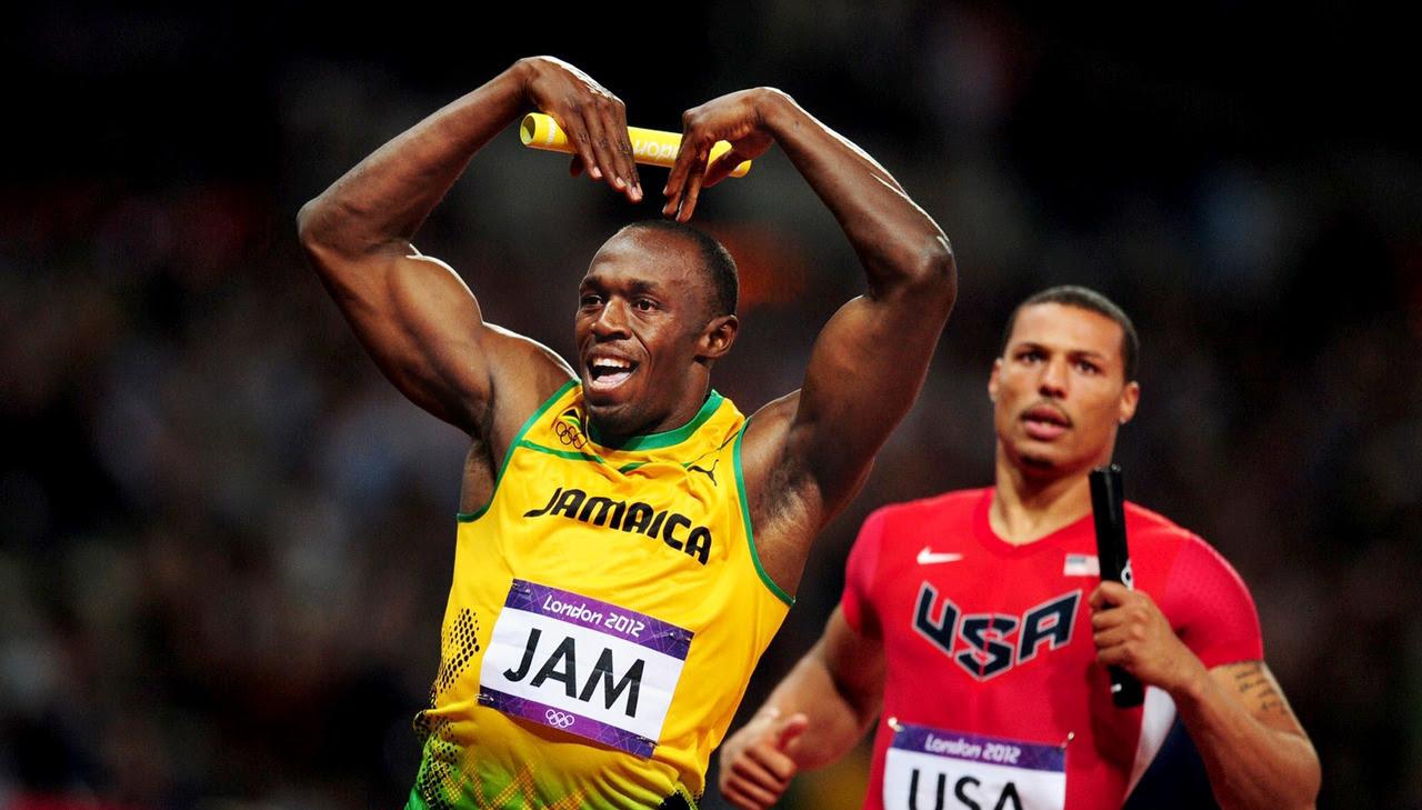 est100 一些攝影(some photos): Jamaica's Usain Bolt , men's 4 x ...