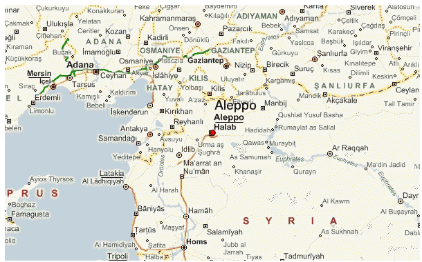 ΧΑΡΤΗΣ - Συρία, Aleppo