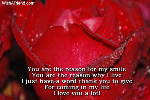 You Are The Reason For My Love Message For Girlfriend