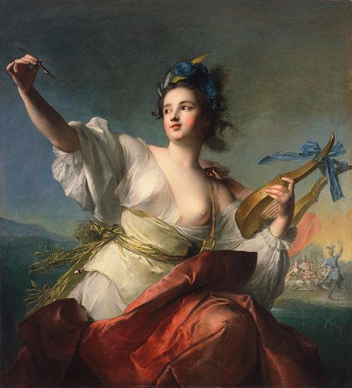 Jean-Marc Nattier, Terpsichore (1739)