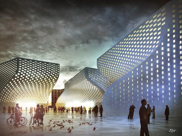 Tirana Islamic Cultural Center with BIG  Studio Kota Architecture