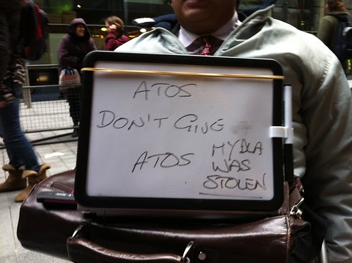 Atos don't give a tos - My DLA was stolen