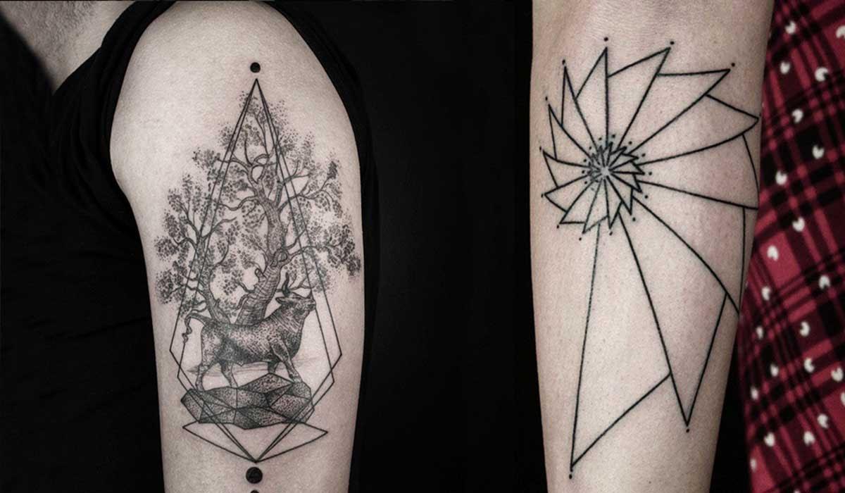 Crea Tatuajes Que Son Unas Verdaderas Obras De Arte Combinando