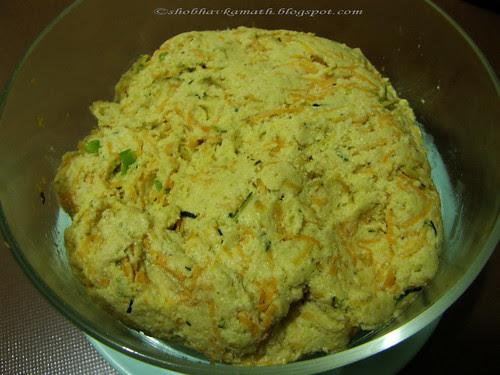 Red Pumpkin Bhakri Dough