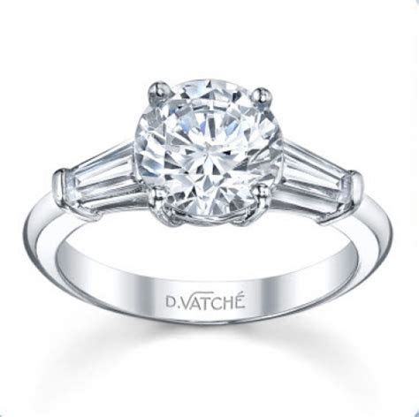 Designs By Vatche Classic 2 Tapered Baguette Diamond