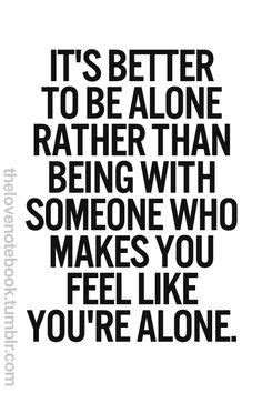 Id Rather Be Alone Quotes Tumblr